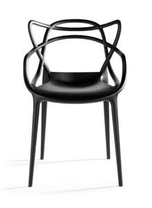 Krzesło o nowoczesnej formie, ale w klasycznej kolorystyce (źródło: pinterest.com)