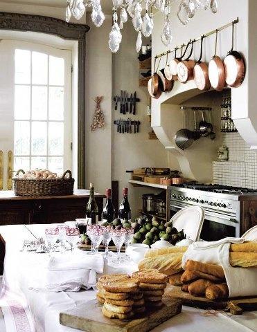 Kuchnia w stylu francuskim (źródło: pinterest)