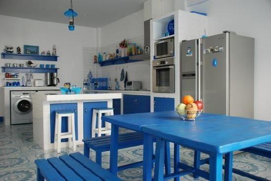 Kuchnia w stylu greckim (źródło: pinterest)