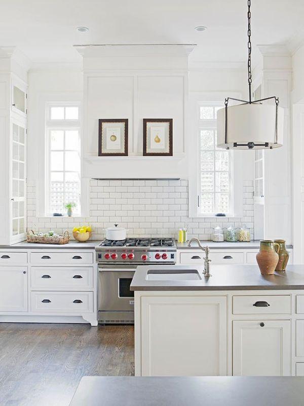 Biel w kuchni (źródło: pinterest)