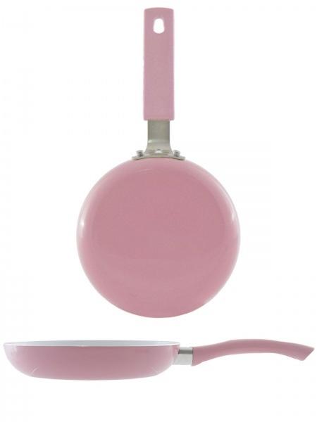 Ceramiczna patelnia w kolorze sweet pink (źródło: www.mybaze.com)