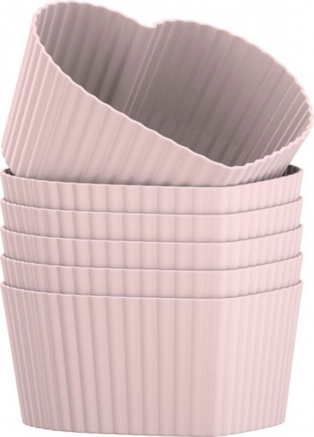 Foremki do muffinów różowe (źródło: mybaze.com)