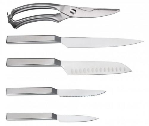 Noże kuchenne Philipiak (źródło: www.philipiaknaczynia.pl)