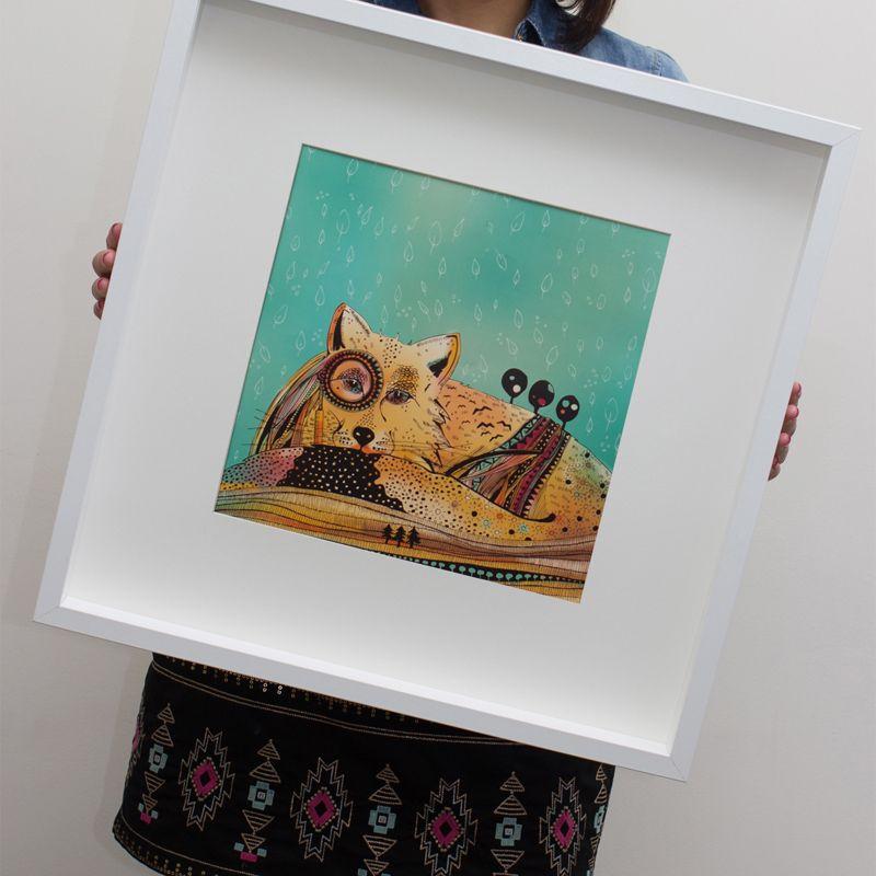 Ręcznie wykonana ilustracja z serii Animal World (źródło: mybaze.com)