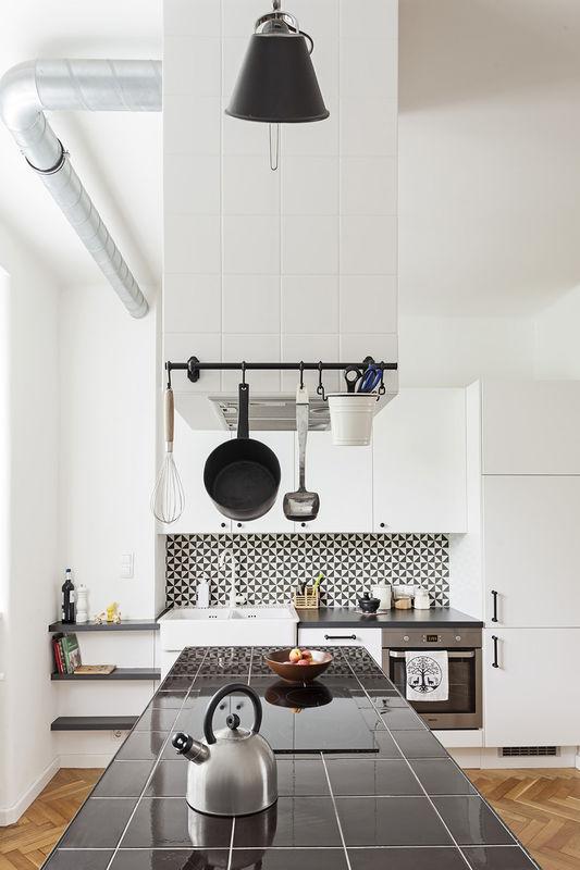 blaty kuchenne z płytek