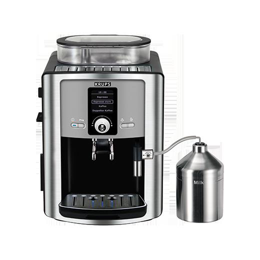 automatyczny ekspres krups ea8050 podajnikiem do mleka
