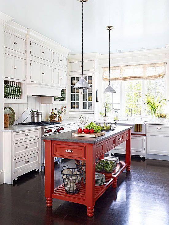 czerwień w kuchni