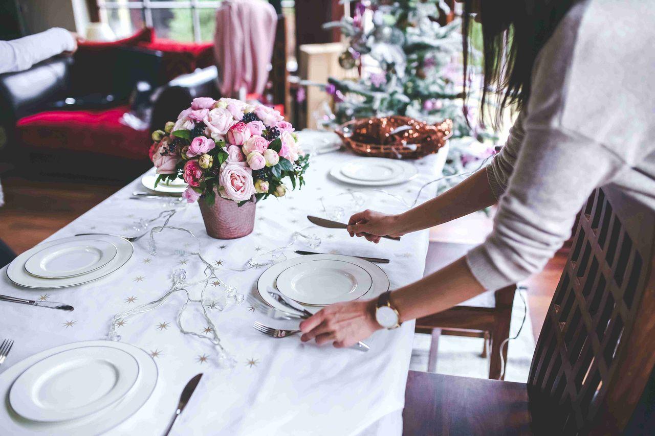 świąteczny stol